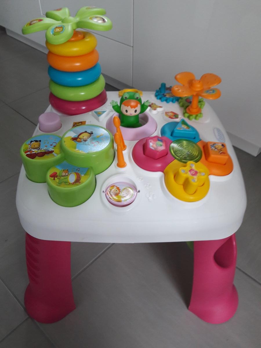 La table d'activités Cotoons