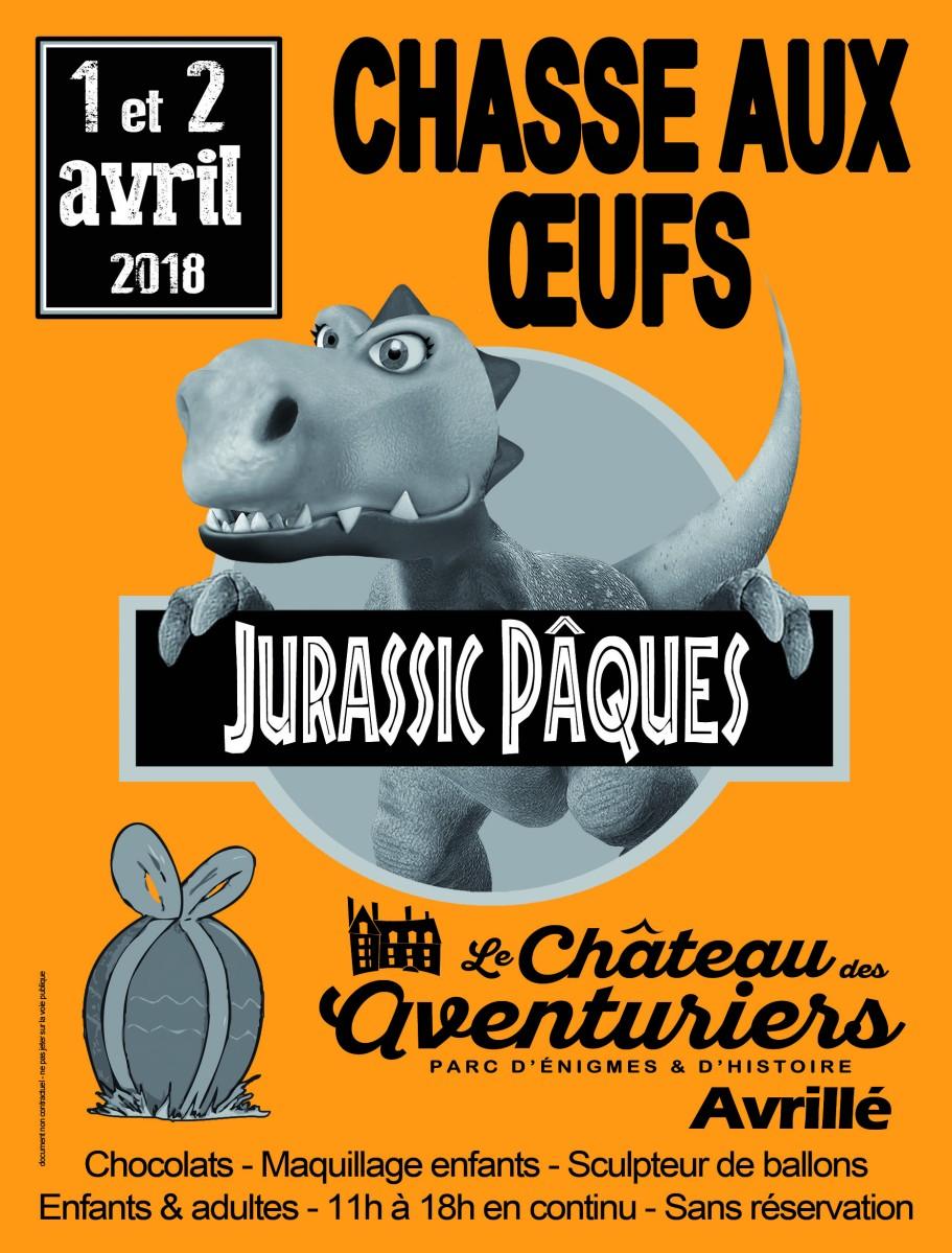 Le château des aventuriers - Jurassic Pâques