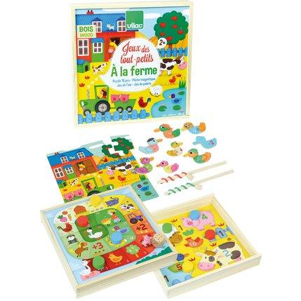 jeux des tout petits à la ferme 24.99