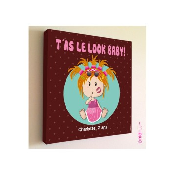 tableau-pour-fille-look-baby