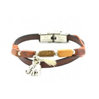 bracelet-cuir-et-bois-elephant-karina