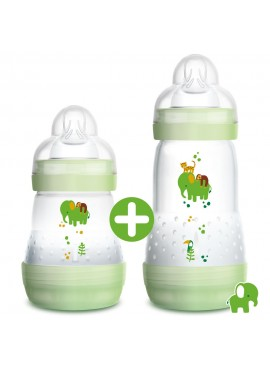 mam-easy-start-anti-colic-bottle-160ml-260ml-nature-safari-green
